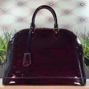 Authentic Alma GM in custom dark cherry color